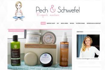 Die Website von Pech & Schwefelg
